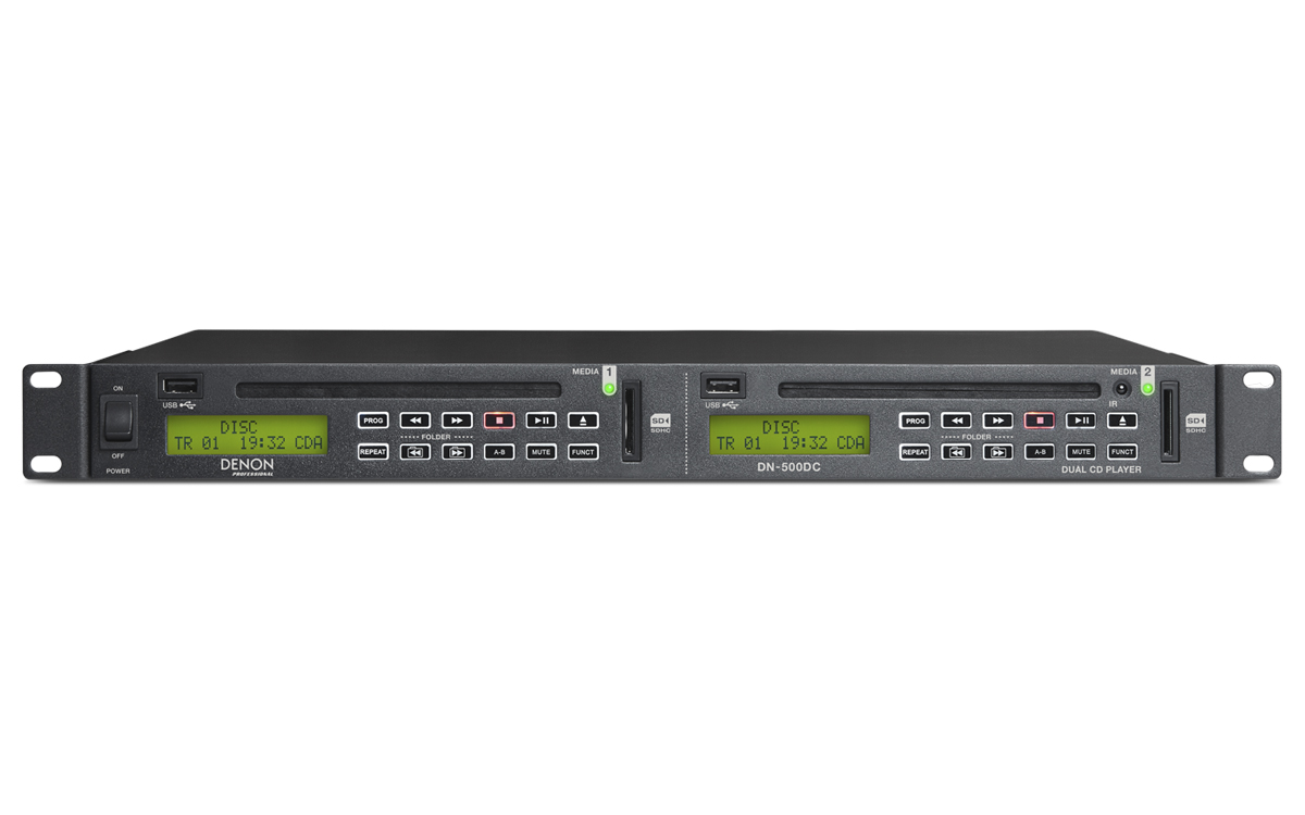 Denon Professional Grade Audio Video Recording The Preamplifier With Dual Dn 500dc