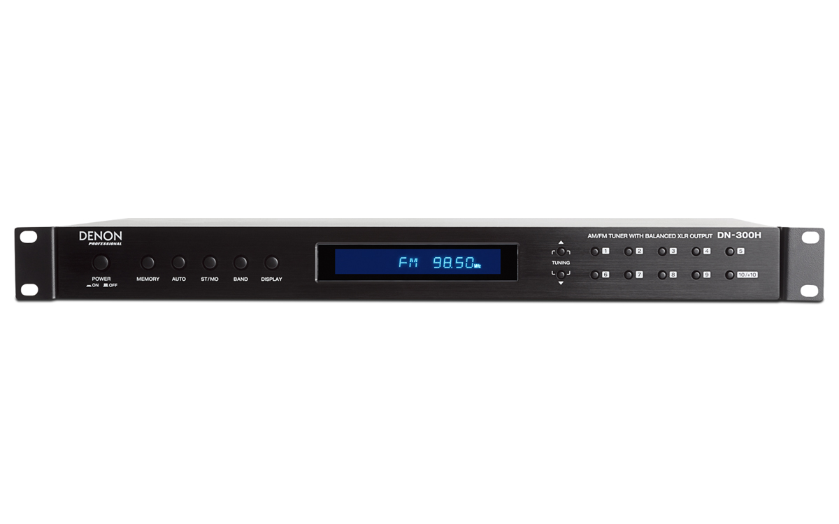 Denon Professional Grade Audio Video Recording Am Receiver Ortho